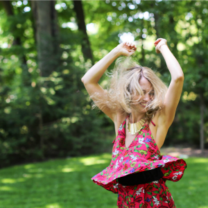 Alexandra Marchant dancing